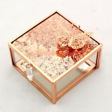 Rose Copper Trinket Box
